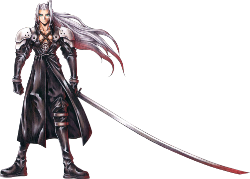 Sephiroth with Sword